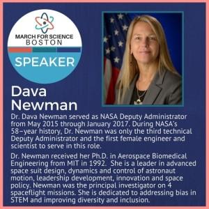 Dava Newman - bio - Apr 2017